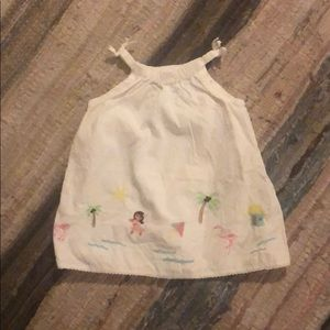 6-12 mo. Hawaii Sundress Old Navy From 2004!